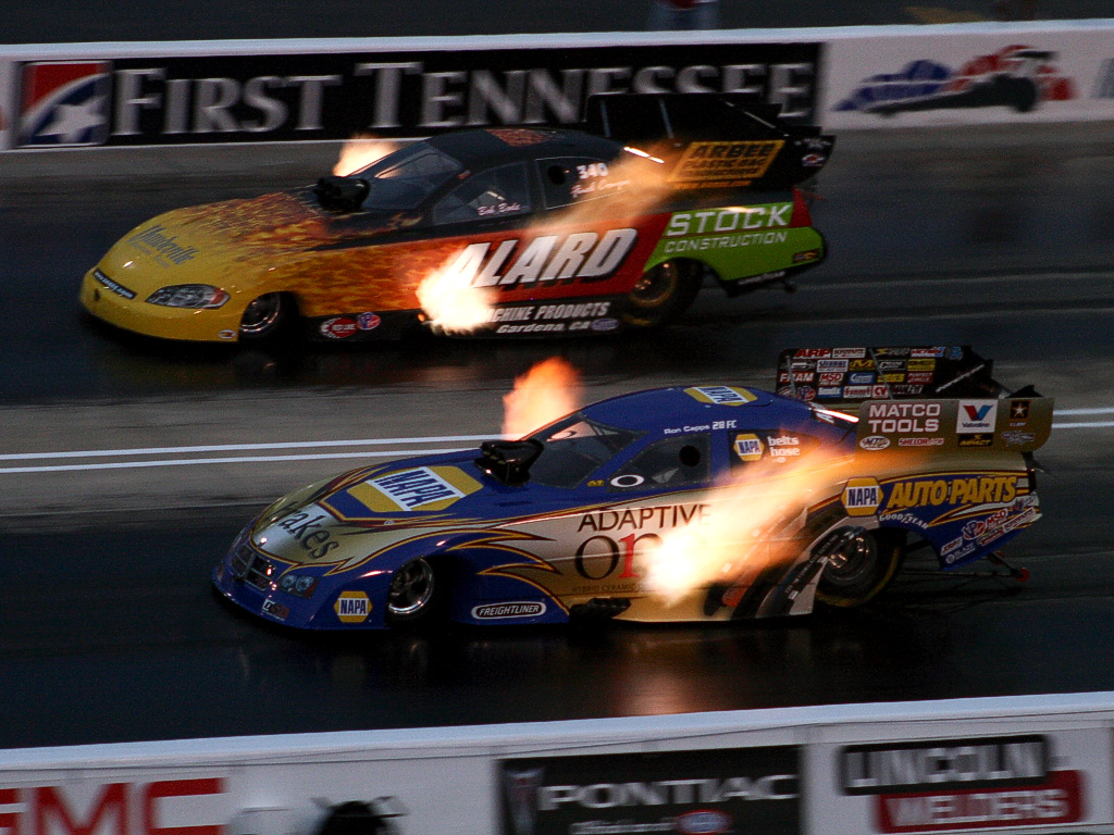 Auto Racing - NHRA at Night