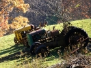 Nature and Old Tractors